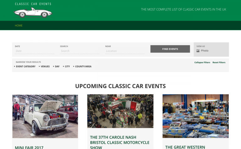 Upcoming Classic Car Events – Classic Car Events